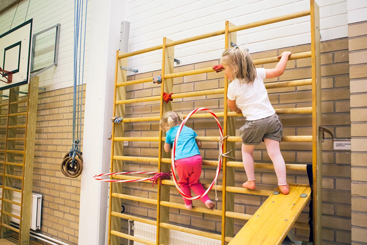 Lasten liikuntaa Tampere