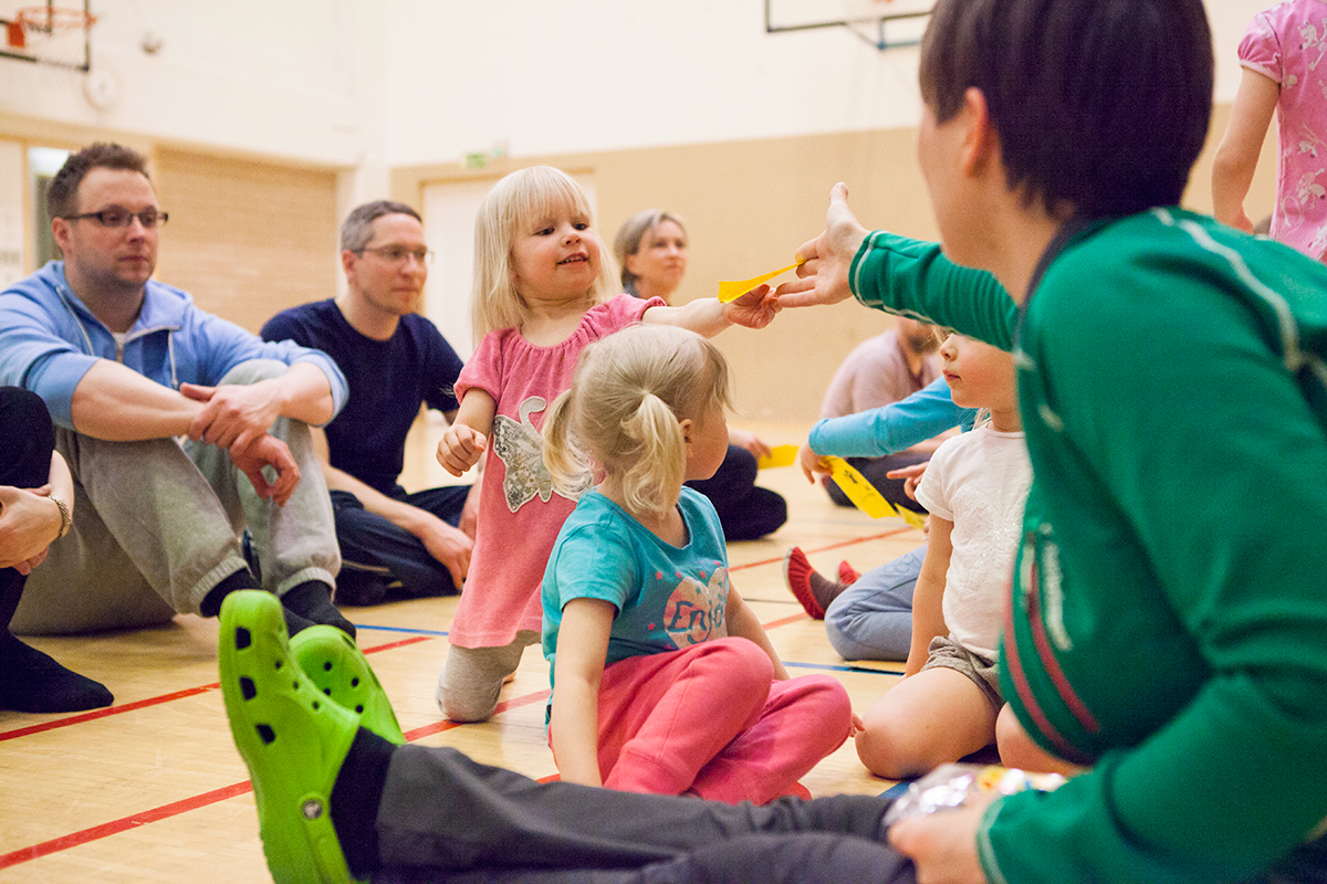 Lasten temppukoulu Tampere